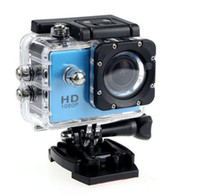 Wholesale camera mini video sport for sale - New P Full HD Action Digital Sport Camera SJ4000 Inch Screen Under Waterproof M DV Recording Mini Sking Bicycle Photo Video Cam