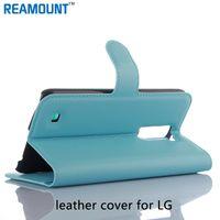 lg g3 beat cases al por mayor-Venta al por mayor para la caja colorida del cuero del tirón de la cartera para LG G3 G3 Beat G3 Styus con el soporte y el marco de la foto del titular de la tarjeta de la identificación