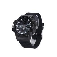 reloj de pulsera al por mayor-16GB 2K Reloj de la cámara Reloj de pulsera impermeable Reloj DVR Reloj de detección de movimiento Grabador de video Vigilancia de seguridad mini videocámara