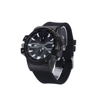 ebook mp4 player al por mayor-16GB 2K Reloj de la cámara Reloj de pulsera impermeable Reloj DVR Reloj de detección de movimiento Grabador de video Vigilancia de seguridad mini videocámara