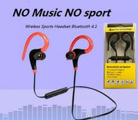 Wholesale Horn Bluetooth - H017 2017 new movement control big horns Bluetooth headset running wireless headset earphone stereo Bluetooth headset