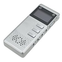 Wholesale Vor Digital Recorder - Wholesale- High Quality 8GB VOR Digital Voice Recorder Mini USB Audio Recorder TF Card Dictaphone Gravador de voz