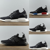 adidas NMD R1 PK Japan Primeknit Black Shoes Size 12