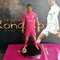 "Wholesale Ronaldo Toy - Popular Soccer 7# Cristiano ronaldo(RM) 2.5"" Action figure Doll Toy Figure 18cm PVC puppet"