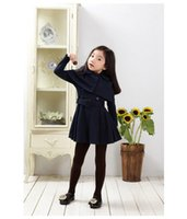 Wholesale Girl S Long Coat Down - Girls 2016 \Winter Fashion Kids Long Jackets Coat Children's Outerwear Girl Winter Baby Clothing Coats Girls Trench Coat