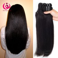 Wholesale Malaysian Queen Hair Product - Indian Human Weave Hair Straight 4Bundles Double Weft Wow Queen Products Cheap Wholesale Price Unprocessed Indian Virgin Hair Extensions