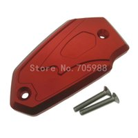 Wholesale F Brake - New For Kawasaki ER6N F Z800 Versys650 Aluminum Motorcycle Brake Fluid Tank Cap Cover Alloy 5 Colors Available