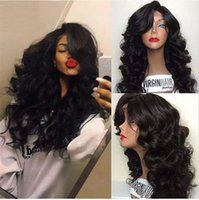Body Wave Hommes Cheveux Front Lace Perruques Glueless Wig Body Wave Beautiful Perruques New Lace Front Perruques Ajustable Straps With Baby Hair
