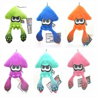 Unisex squid toy - New Fun Colors quot Inkling Squid Lime Plush Doll Anime Collectible Dolls Keychains Pendants Gifts Soft Stuffed Toys