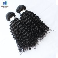 Wholesale Top Quality Remy Hair Styles - Top Quality Braid Virgin Hair Mongolian Kinky Curly Hair 3 Bundles Afro Kinky Curly Style Unprocessed Remy Human Hair Weave