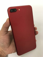 Wholesale New Mp3 Touch - Cheap Smartphone Goophone i7 Plus New Red Quad Core MTK6580 Android Show 128GB 3G WCDMA Unlocked Cell Phones