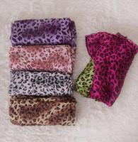 Wholesale Leopard Print Scarves For Women - Leopard Print Scarf Wraps For Women Fashion Winter Femme Scarves Shawl Pashmina Lady's Sleek Leopard scarves with Fringe KKA2629