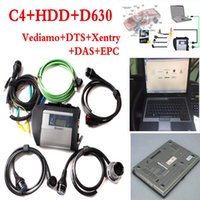 Wholesale C4 Scanner - For Mercedes Benz OBD2 scanner MB STAR C4 with software 2017.09 HDD + Laptop D630 full set MB STAR C4 Benz Diagnostic tool