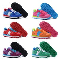 Wholesale Womens Flats Size 39 - Fashion Boots Originals Jazz Shoes Women Ladies Saucony Jess Low Breathable Womens Shoes 7 Color Hot Sale Size 36-39