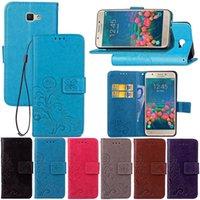 Wholesale Magnetic Clip Wallet - For Samsung galaxy J2 J5 J7prime Magnetic flip Wallet card slots case cover protective fundas for galaxy J2 J5 J7 J2000 J5000 J7000 Capa
