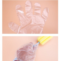 Wholesale Wholesale Used Appliances - Can Be Used For Food And Beverage Disposable Gloves 100 Piece Every Bag of Transparent Thickening of The Household Chores Clean Health Glove