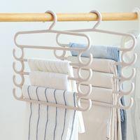 Wholesale clothing article - Trousers Clothes Rack Home Furnishing Articles Coat Hanger Adult Children Non Slip Magic Hangers Multicolor Popular 5 5hm C R