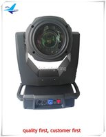 Wholesale Moving Head Gobo Beams - 2Xlot event decoration equipment zoom moving head light double gobo wheel 17r 350w moving head beam
