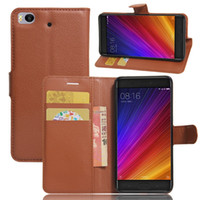 Wholesale id holder flip wallet for sale – best Litchi Wallet Flip Leather Pouch Case For Xiaomi MIX S Plus Redmi A ZTE Grand X4 HTC A9S Stand ID Card Holder Phone Cover Luxury