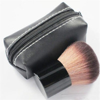 Wholesale Makeup rouge brush blusher brush and Leather bag M182 hot sale from idea