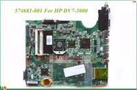 Wholesale amd laptop motherboards for sale - High Quality MB For HP DV7 Laptop Motherboard DAUT1AMB6E1 REV E AMD CPU DDR2 Tested