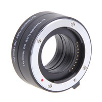 Wholesale Fuji X Pro1 - Wholesale- Autofocus Macro tube for Fuji FX Camera X-Pro1 X-E1 X-E2 X-M1 X-A1 Camera lens Adapter
