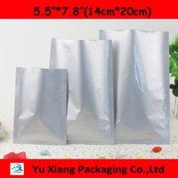 """Wholesale Vacuum Shopping - 200pcs lots5.5""""*7.8""""(14cm*20cm)*200mic High Quality Plastic Retail Shopping Bags Al Foil Vacuum Bags Pouch Bags Wholesaler"""