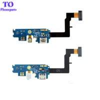 Wholesale Microphone Parts - Dock USB Port Charging Connector Flex Cable For Samsung Galaxy S2 i9100 GT-i9100 USB Part Flex Cables With Microphone