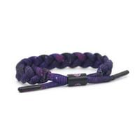 Wholesale Hardware Bracelet - Shoelace bracelet for wholesale good quality polyester and hardware