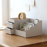Wholesale Desktop Storage Containers - jewelry boxes wholesale extra size drawer style desktop makeup items storage box jewelry storage containers