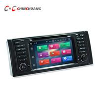 ingrosso e39 tv-Aggiornato 4G RAM Octa Core Android 8.0 Car DVD Player per BMW E39 con Radio GPS Navi Wifi DVR Mirror Link