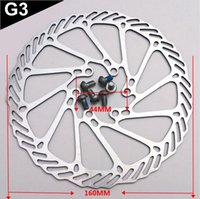 Wholesale Avid Hydraulic Brakes - 1 Piece 6 Bolts AVID G3 HS1 RT56 160mm MTB Road Bike Brake Disc Rotors Hydraulic Bicycle Disc Brake Rotor with T25 Screws