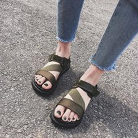 Wholesale Women s Shoes Solid Color Sandals Flat Bottom Fashion Casual Shoes Summer Beach Flip Flop for Women