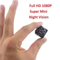 Wholesale mini wide - SQ8 Mini DV Spy Camera Full HD 1080P Video Recording Wide Angle 12MP CMOS Wireless Motion Detecting Hidden Video Camera Sports DVR