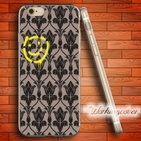 Wholesale Iphone 4s Sherlock - Coque Sherlock Smile Soft Clear TPU Case for iPhone 6 6S 7 Plus 5S SE 5 5C 4S 4 Case Silicone Cover.