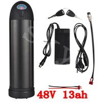 Wholesale 48V Ah lithium ion bottle ebike battery pack with charger fit Bafang BBS02 W BBS03 BBSHD V W motor