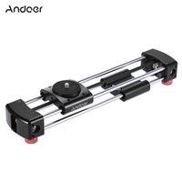 Wholesale Double Slider - Andoer GT-V250 Mini Manual Track Slider Camera Video Slider 365mm Double Sliding Distance for GoPro Action Camera Smartphone Pocket D4064