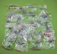 Wholesale 1w resistors - Wholesale- 200pcs 1w carbon film electrical resistance kit 20 kinds of commonly used specifications each 10pcs