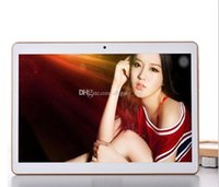 Wholesale Chargers Wholesale China - 10.1 Inch Tablet PC Eight Core Andriod 5.0 3G MTK8382 Phone Tablets Dual Card Camera 2 IPS 4GB 64GB Bluetooth GPS