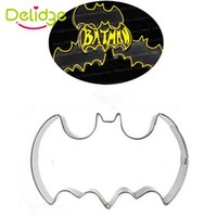 Delidge 20 шт. Eiffel Tower Batman Key Shape Cookie Mold из нержавеющей стали Vintage Cookie Cutter Cake Decorating Mousse Ring