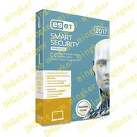 Wholesale Eset Smart Security Years - ESET Smart Security 2017 key Activation code V10.0 V9.0 V8.0 1 Year 3 devices 3PC 100% full working Support Multilanguage