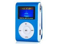 Wholesale mini clip mp3 player retail resale online - Downloading Sport Digital Music Player With Screen Mini Clip Mp3 Player with Radio FM Retail Box OM CD2