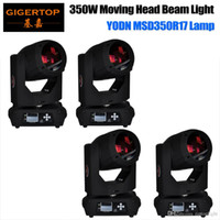 Gigertop 4 Unità 350W MSD 17R Movimento Head Light Light Rainbow 7 LED a colori Lenti a LED Display Schermata Touchable Presa IN / OUT TP-17RB