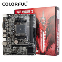 Colorido C.A68M-E Plus V15 para AMD A68H FM2 / FM2 + Socket SATA 6Gb / s USB 3 juegos DDR3 mATX Desktop Mainboard Placa base