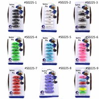 Wholesale Kids Safety Pins - Wholesale- Lychee 1 sheet Multi Color Muslim Hijab Islamic Scarf Pins Diamante Childern Kids Safety Pin