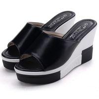Wholesale Comfortable Black Sandals For Women - Cheap Heels Online For Women Popular Ladies High Heels Sandals & Slippers Shoe Fashion Female Pumps Footwear Shoes Comfortable Outlet Sale