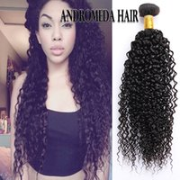 Wholesale Kinky Curly Brazilian Extensions - Peruvian Brazilian Kinky Curly Weave 8 to 26 inch Human Hair Weaving Natural Color Weave 3 pieces lot Unprocessed Peruvian Hair Extensions