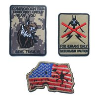 Wholesale Swat Team - 60 PCS Navy Devgru Seal Team 6 Skeleton USA MAP Morale Rubber Patch Army Tactical Swat Patch 3d Morale Badge Patches