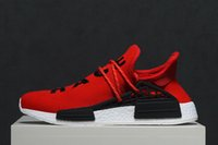 En gros 2017 nouvelle course humaine Pharrell Williams X NMD Sports Chaussures de course, discount Pas Cher Boost Formation Sneaker Chaussures, Dropshipping Accepté