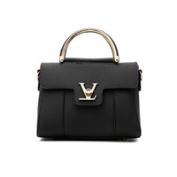 Wholesale Pure White Handbags - 2017 New High Quality Fashion Women High Grade PU Leather Handbags Shoulder Bag Pure Color Black Bag Handbags Party Bag dhY-378